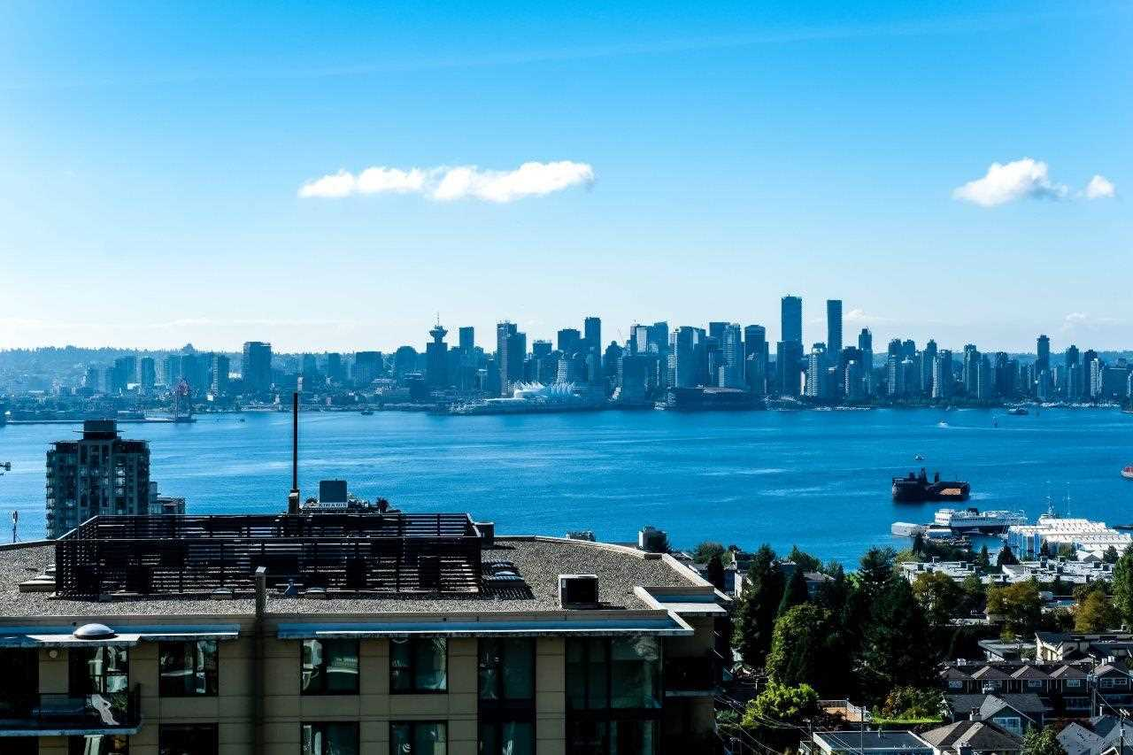 view-1203-in-the-day at 1203 - 701 W Victoria Park, Central Lonsdale, North Vancouver