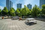 copy-of-copy-of-111-courtyard-off-pool at 1506 - 1008 Cambie Street, Yaletown, Vancouver West