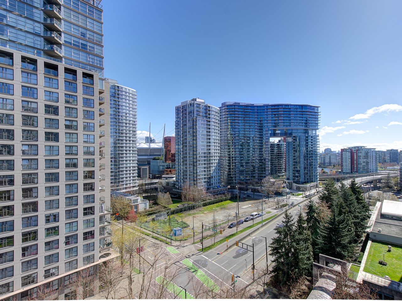12-patio-3 at 1506 - 1008 Cambie Street, Yaletown, Vancouver West