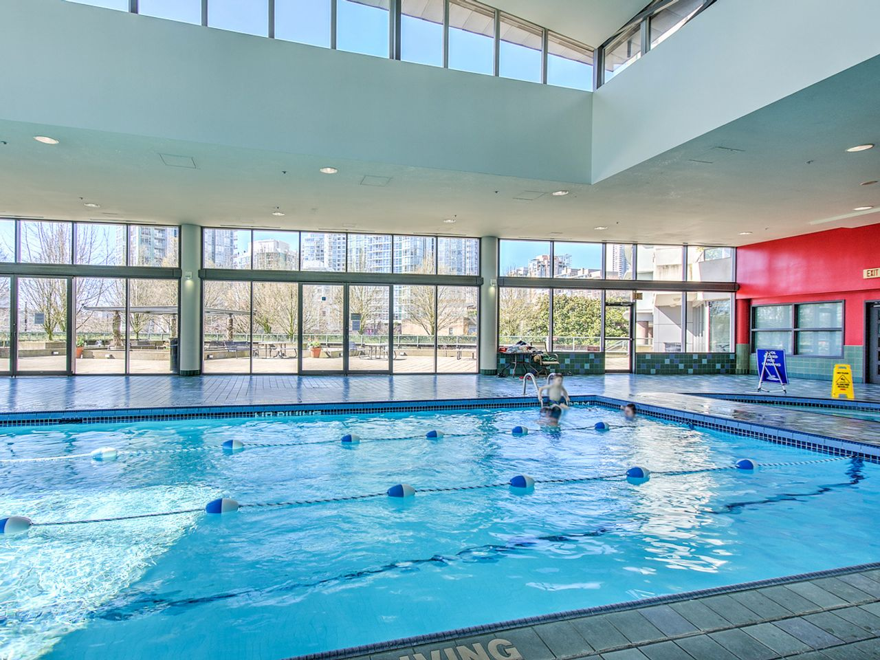 18-amenities-1-pool at 1506 - 1008 Cambie Street, Yaletown, Vancouver West
