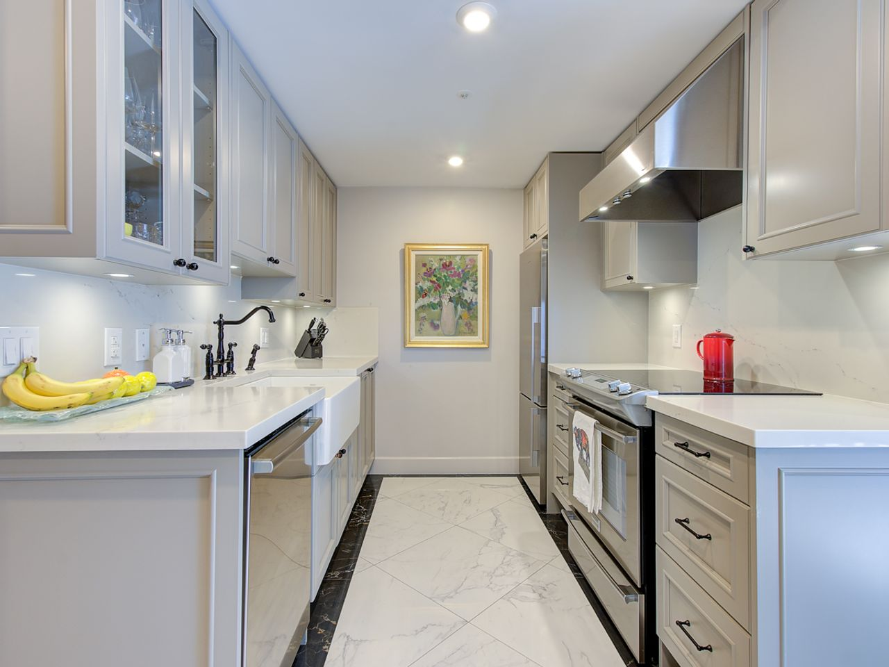 3-kitchen at 1506 - 1008 Cambie Street, Yaletown, Vancouver West