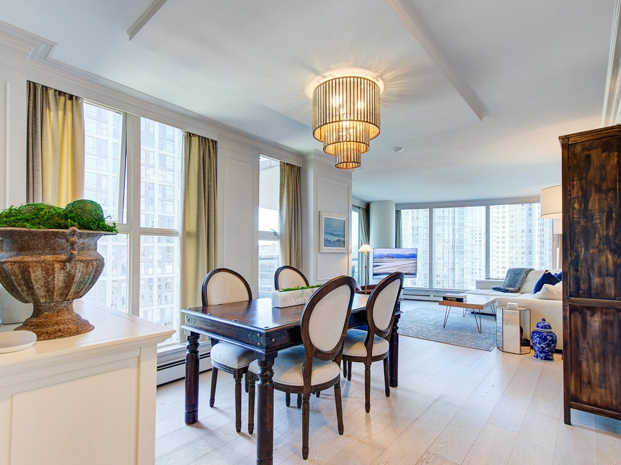 5-dining-living at 1506 - 1008 Cambie Street, Yaletown, Vancouver West