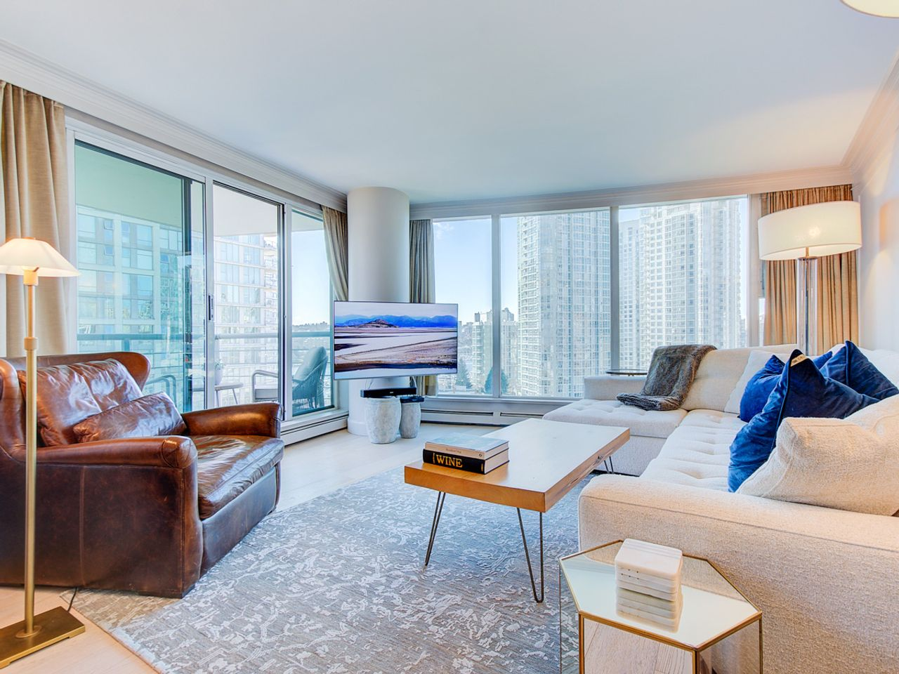 7-living-room-1 at 1506 - 1008 Cambie Street, Yaletown, Vancouver West