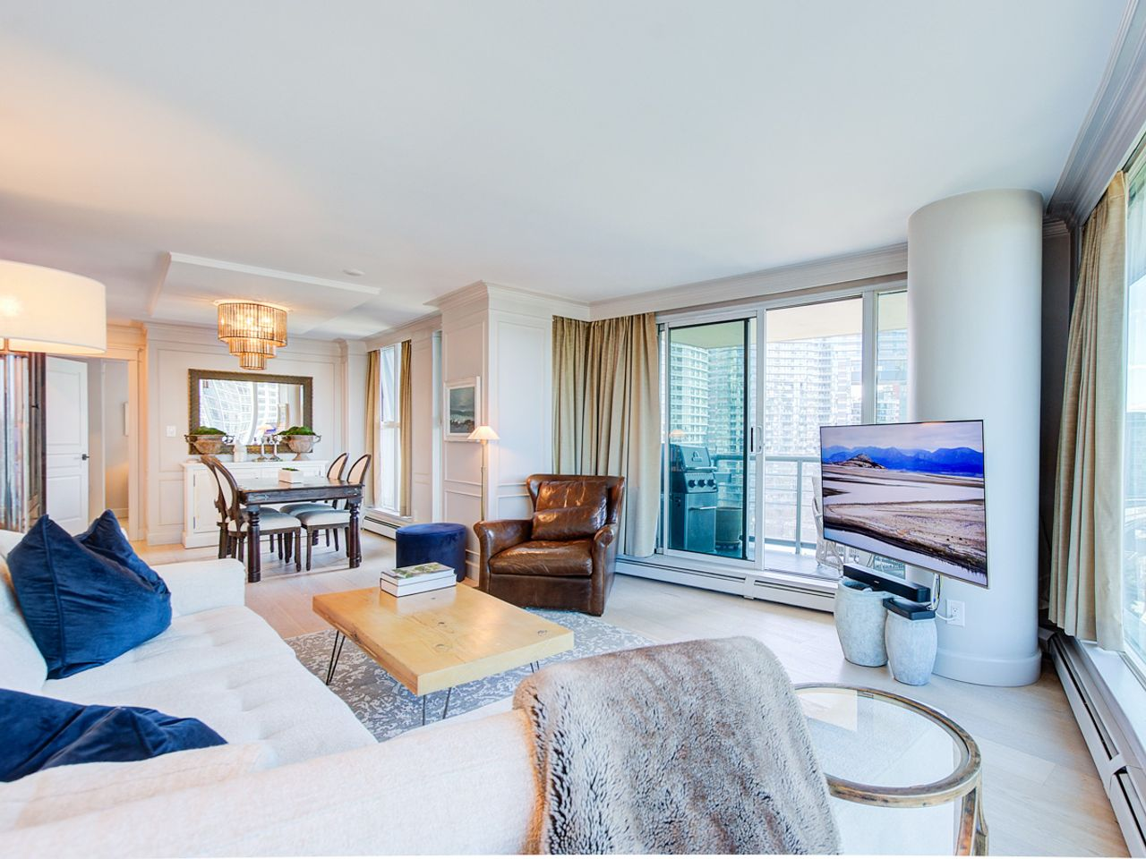 9-living-room at 1506 - 1008 Cambie Street, Yaletown, Vancouver West