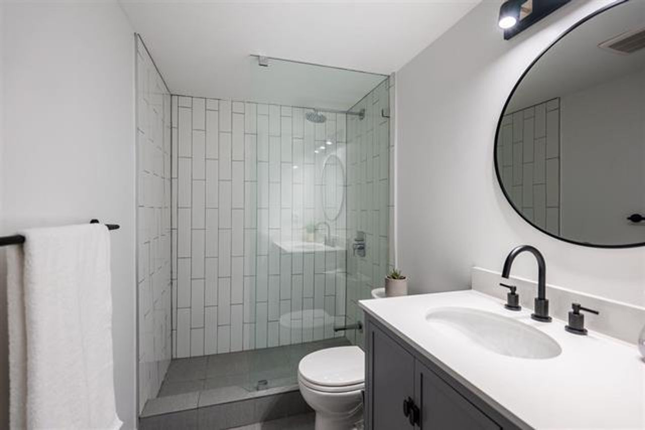 Two Bathrooms at 208 - 3264 Oak Street, Cambie, Vancouver West