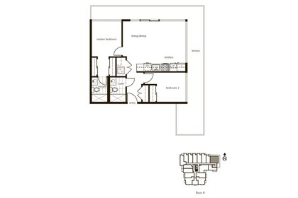 floor_plan at 809 - 250 E 6th Avenue, Vancouver East