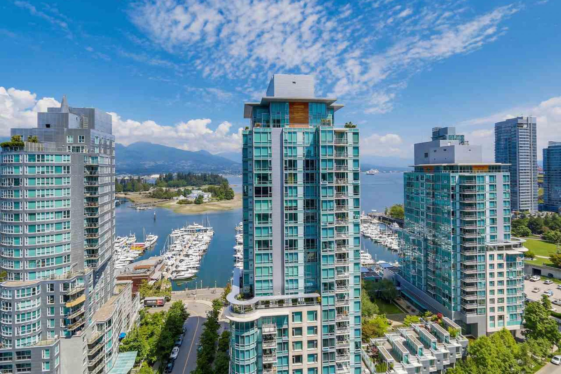 1801 - 1499 West Pender Street, Coal Harbour, Vancouver West