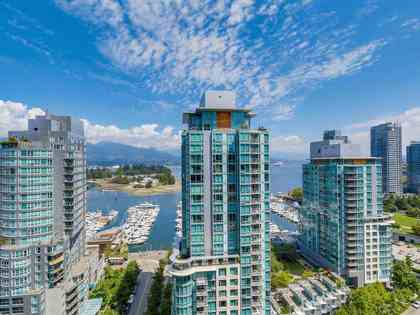 1801-1499-wpender at 1801 - 1499 West Pender Street, Coal Harbour, Vancouver West