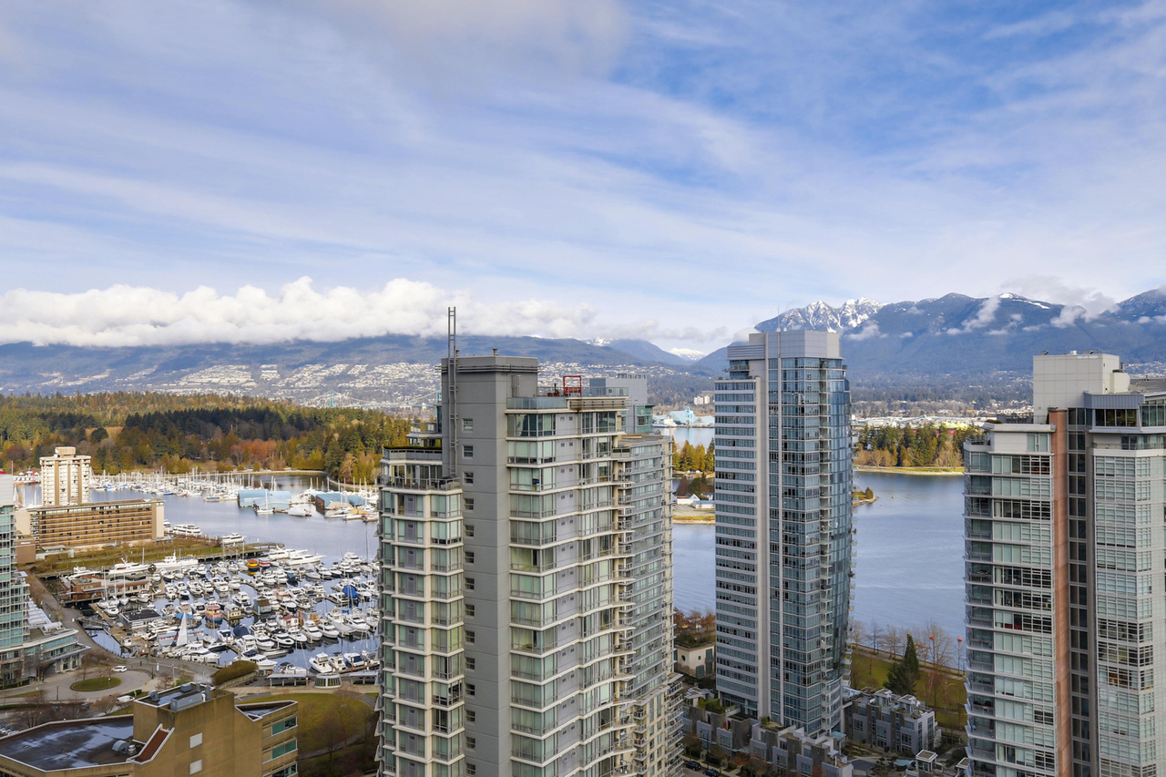14-6 at 1189 Melville Street, Coal Harbour, Vancouver West