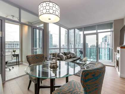 1-5 at 1189 Melville Street, Coal Harbour, Vancouver West