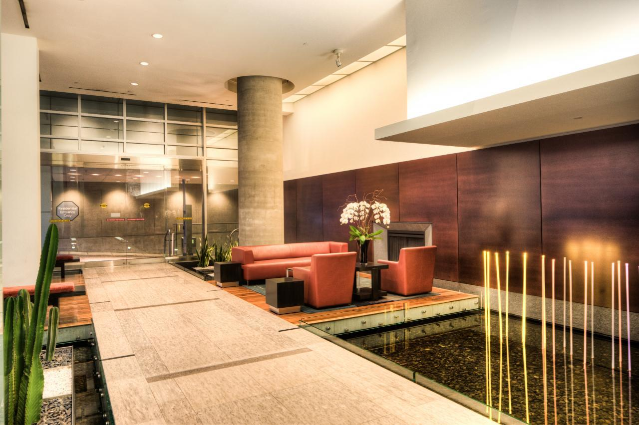 lobby2-2 at 1077 Cordova Street W, Coal Harbour, Vancouver West