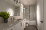 bedroom-bathroom at