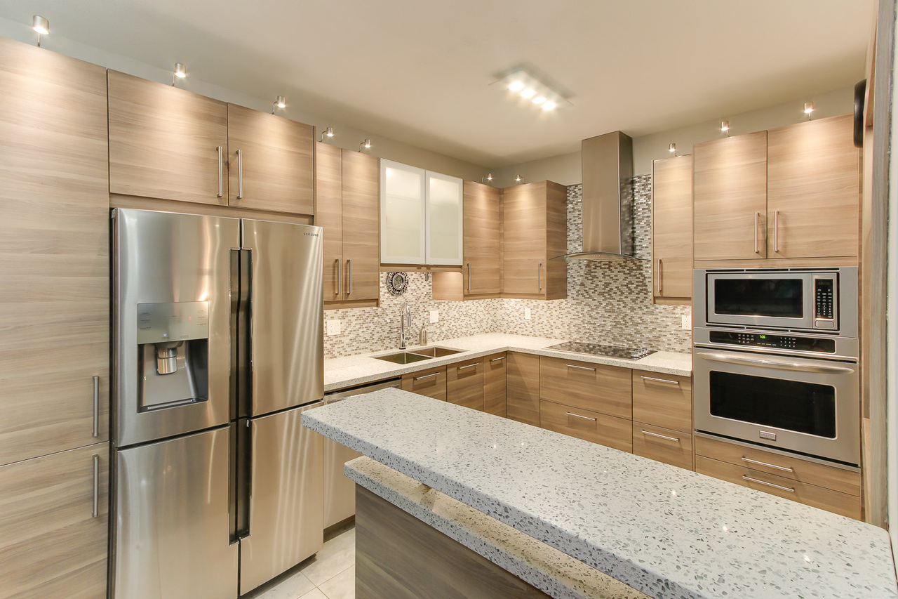 kitchen at
