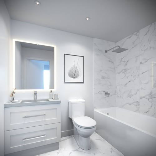 bathroom-white at
