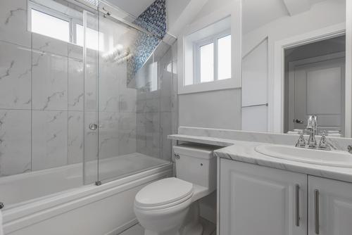 bathroom at