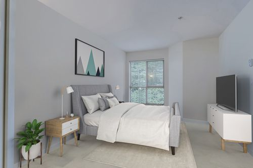 bedroom at