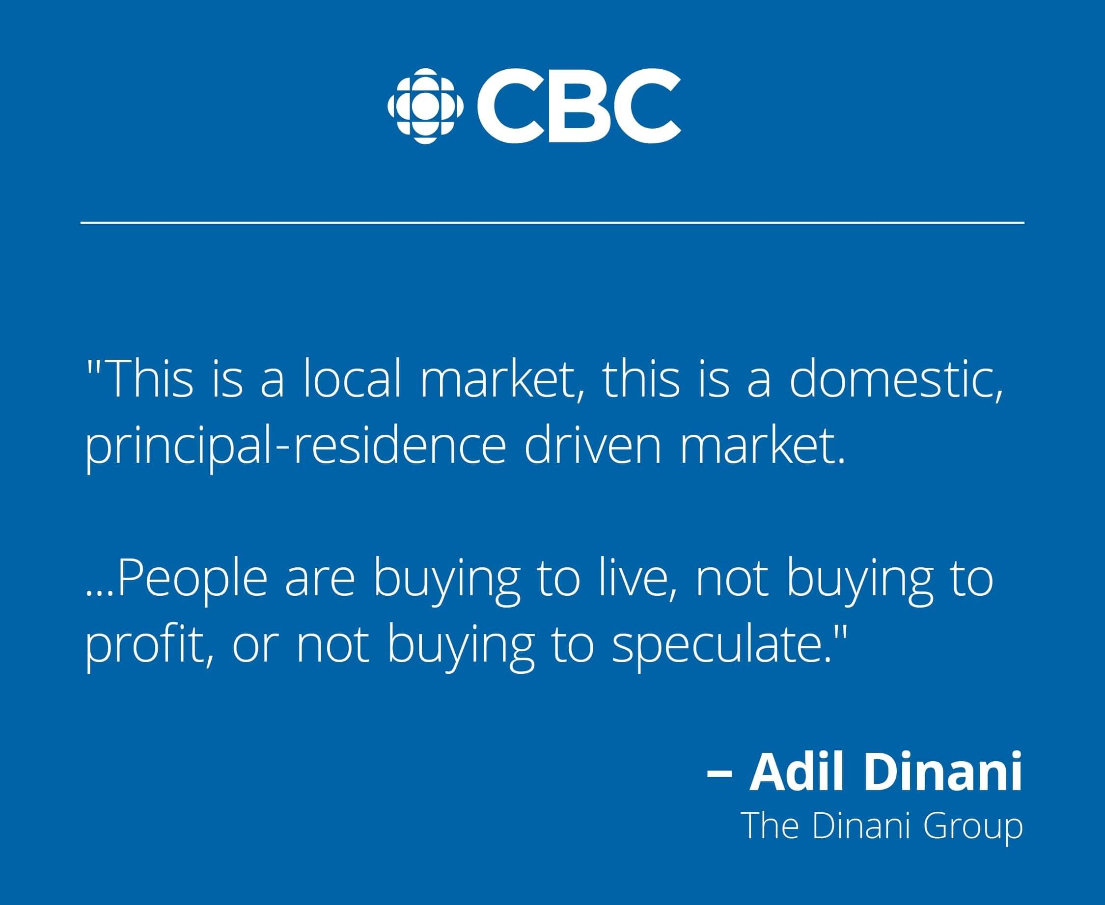 CBC: Spike in B.C. Home Sales Attributed to remote work, February 25, 2021