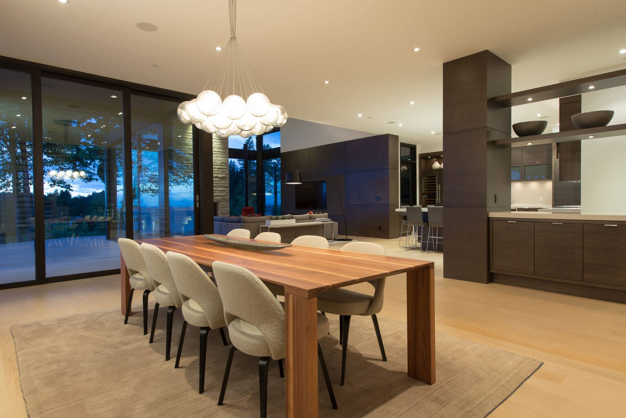 Dining Area at 4112 Burkehill Road, Bayridge, West Vancouver