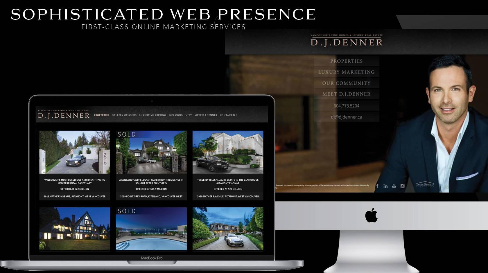 Sophisticated Web Presence