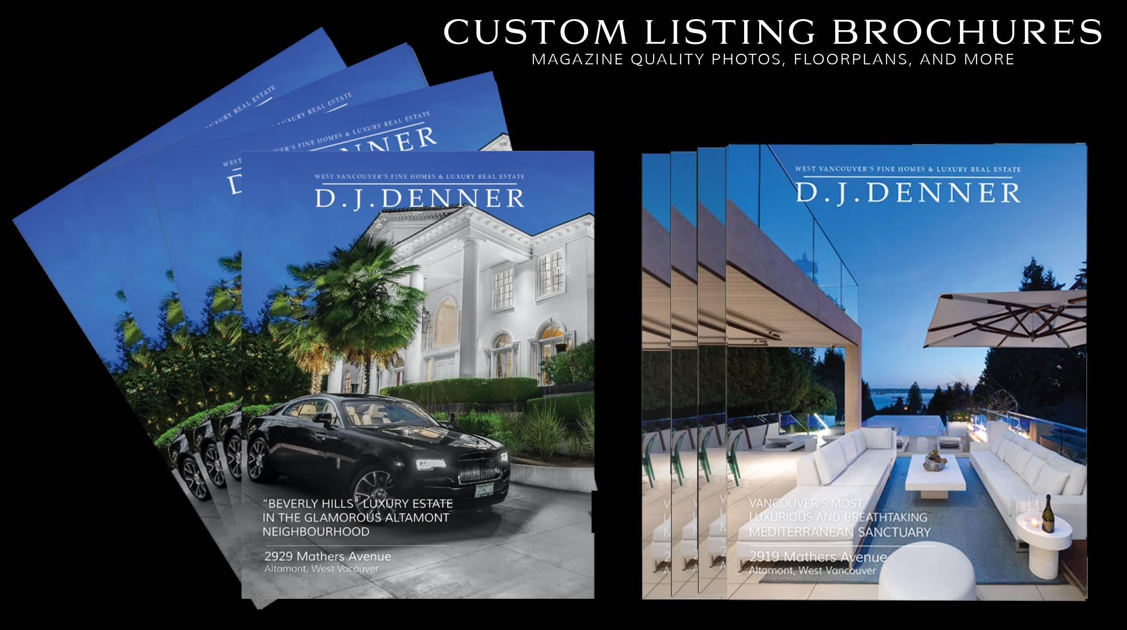 Custom Listing Brochures