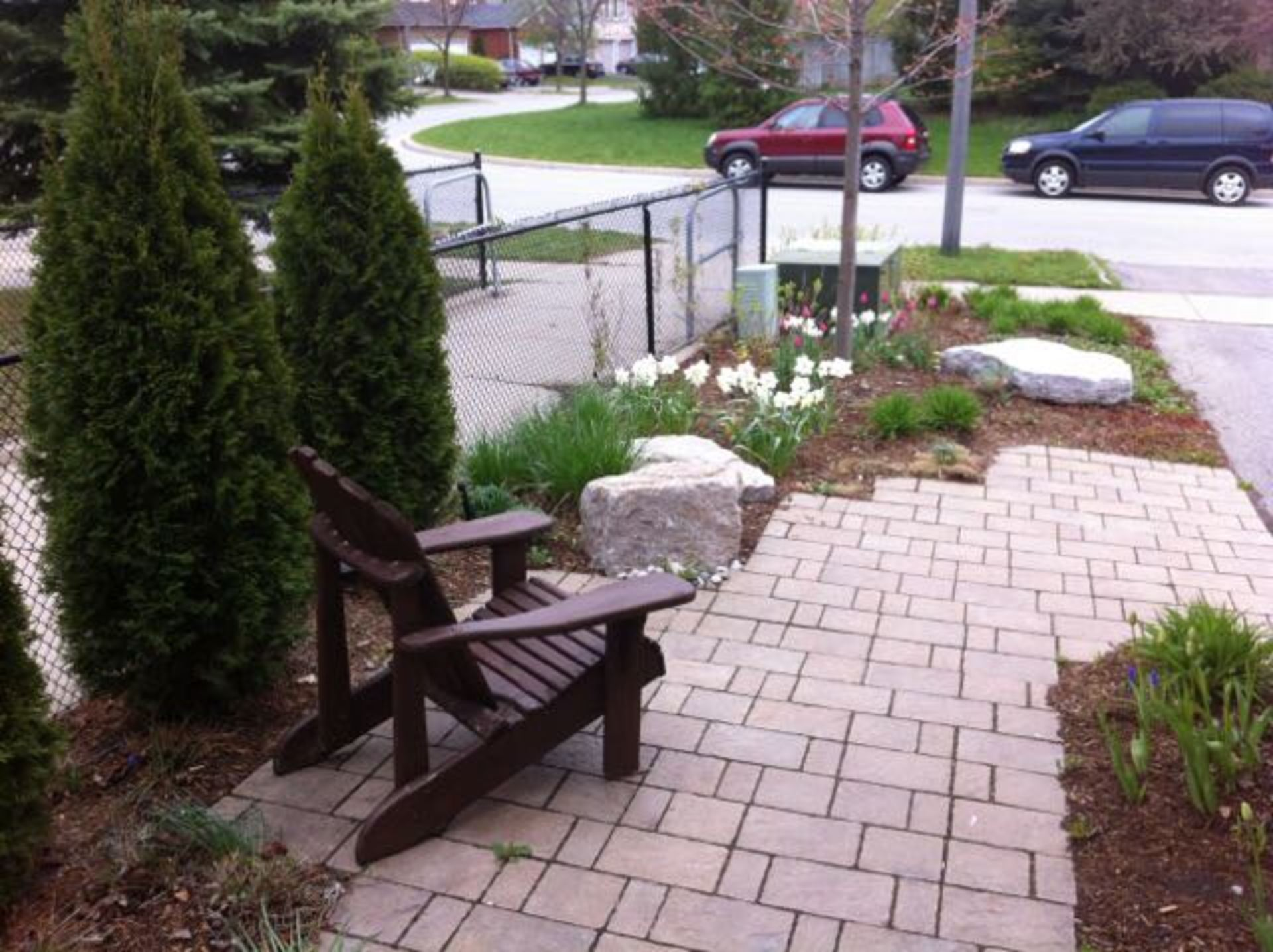 Backyard at 5799 Tayside Crescent, Central Erin Mills, Mississauga