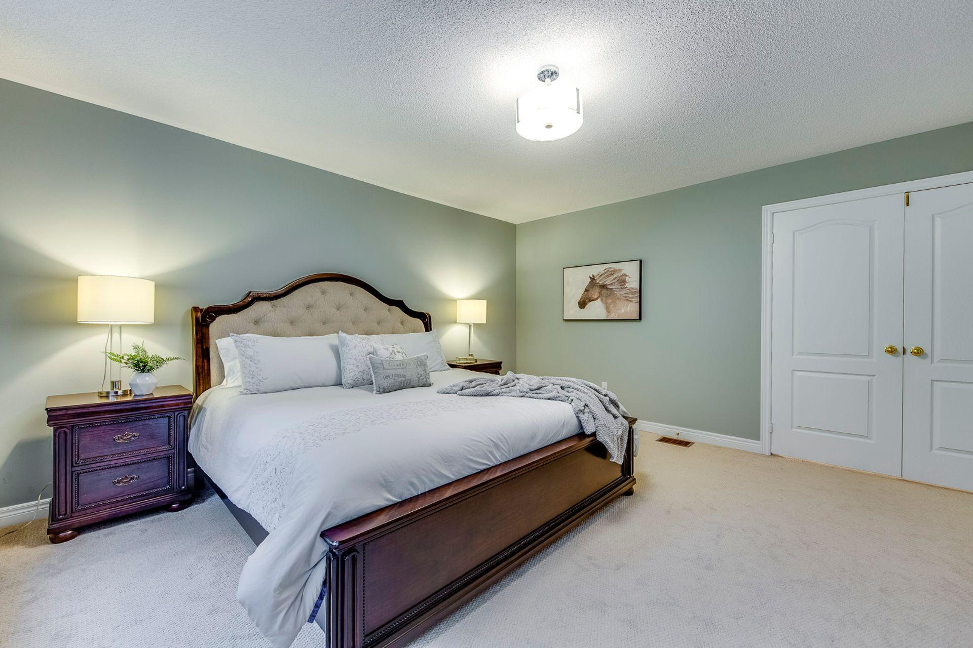Master Bedroom - 12-2254 Rockingham Dr, Oakville at 12 - 2254 Rockingham Drive, Iroquois Ridge North, Oakville