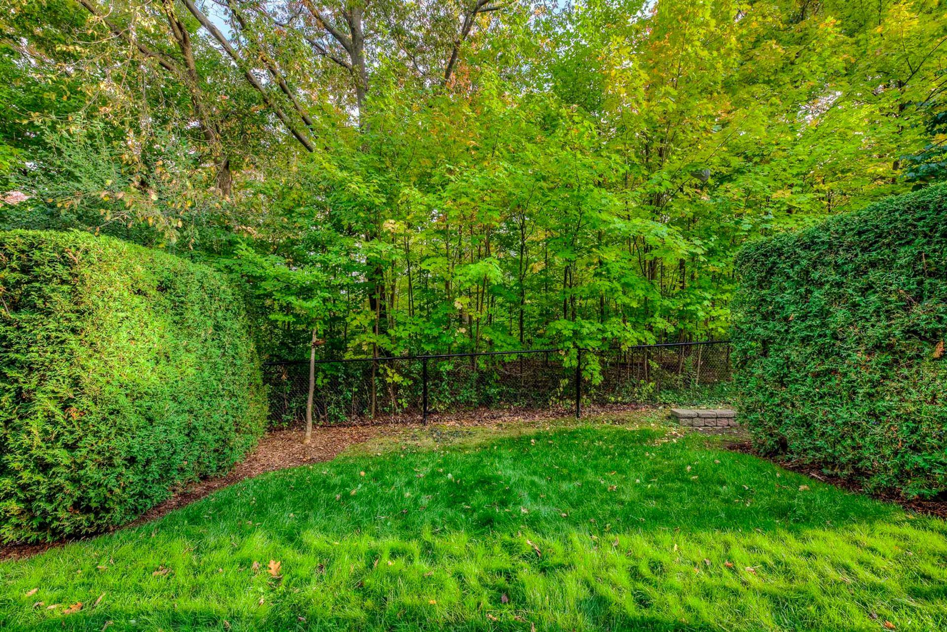 Backyard - 12-2254 Rockingham Dr, Oakville at 12 - 2254 Rockingham Drive, Iroquois Ridge North, Oakville