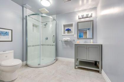 Basement Bathroom- 1321 Brookstar Drive, Oakville - Elite3 & Team at 437 Allan Street, Old Oakville, Oakville