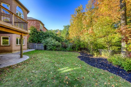 Backyard - 1806 Glenvista Dr, Oakville - Elite3 & Team at 1806 Glenvista Drive, Iroquois Ridge North, Oakville