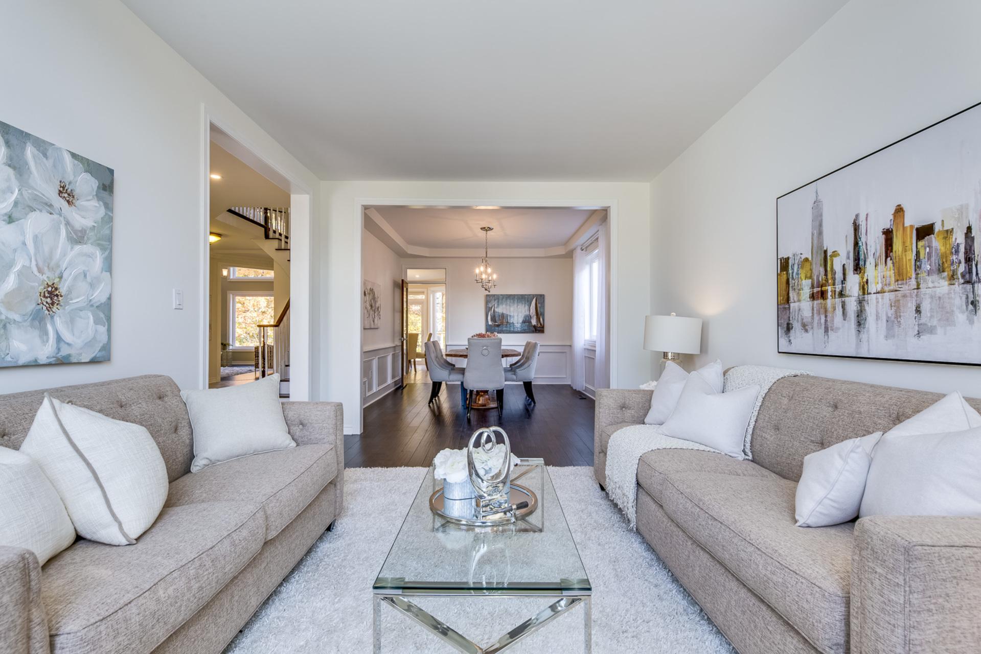 Living Room - 1806 Glenvista Dr, Oakville - Elite3 & Team at 1806 Glenvista Drive, Iroquois Ridge North, Oakville