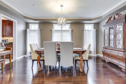 Dining Room - 2395 Tesla Crescent, Oakville - Elite3 & Team at 2395 Tesla Crescent, Iroquois Ridge North, Oakville