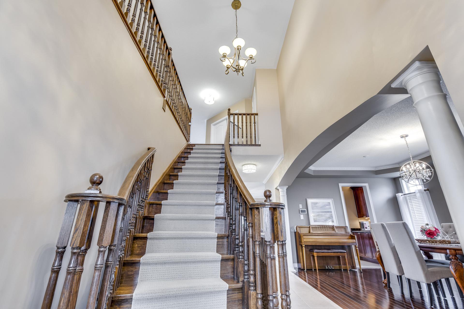 Staircase - 2395 Tesla Crescent, Oakville - Elite3 & Team at 2395 Tesla Crescent, Iroquois Ridge North, Oakville