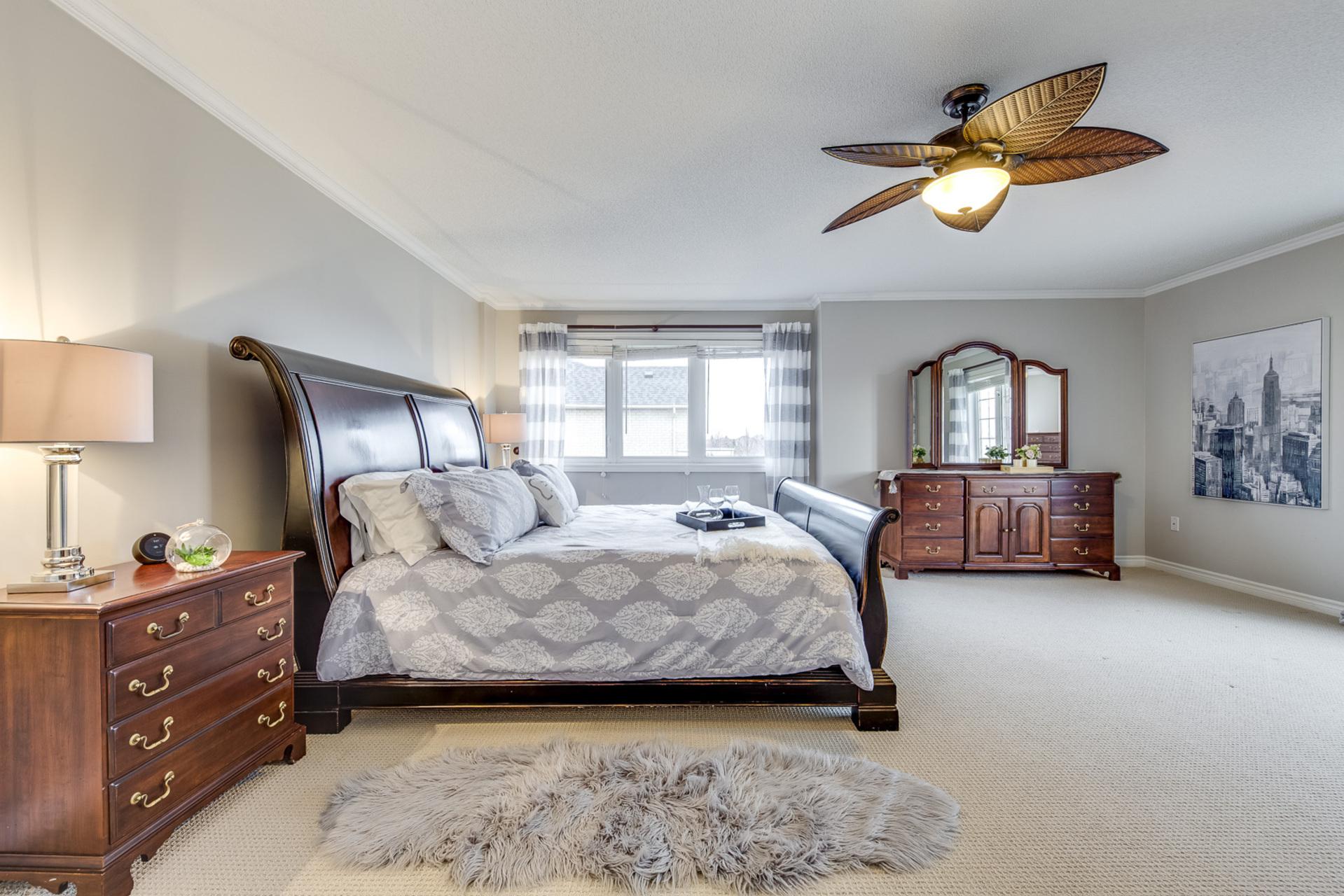 Master Bedroom - 2395 Tesla Crescent, Oakville - Elite3 & Team at 2395 Tesla Crescent, Iroquois Ridge North, Oakville