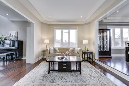 Sunken Living Room - 1276 Kestell Blvd, Oakville - Elite3 & Team at 1276 Kestell Boulevard, Iroquois Ridge North, Oakville