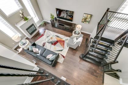 Family Room - 1276 Kestell Blvd, Oakville - Elite3 & Team at 1276 Kestell Boulevard, Iroquois Ridge North, Oakville