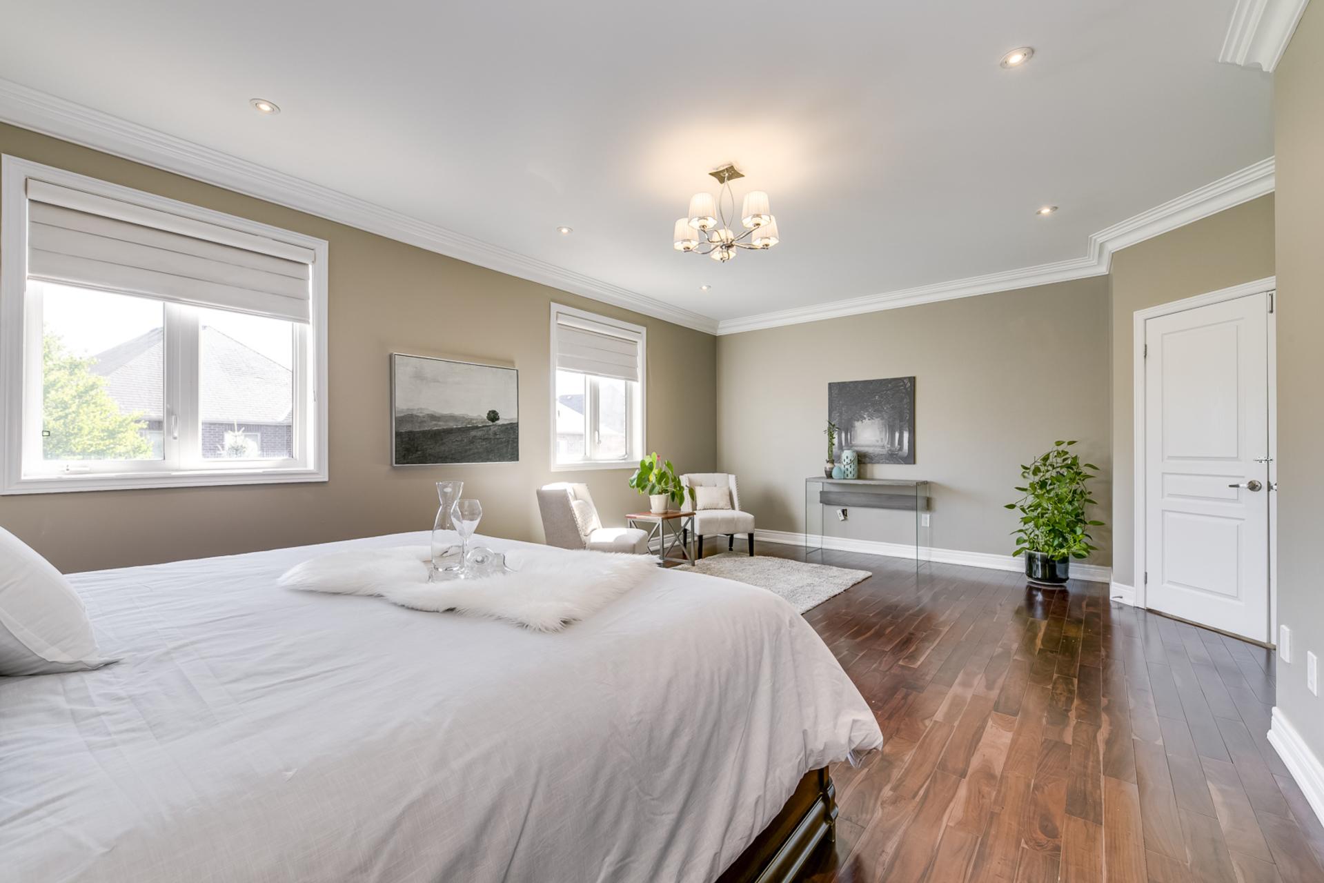 Master Bedroom - 1276 Kestell Blvd, Oakville - Elite3 & Team at 1276 Kestell Boulevard, Iroquois Ridge North, Oakville