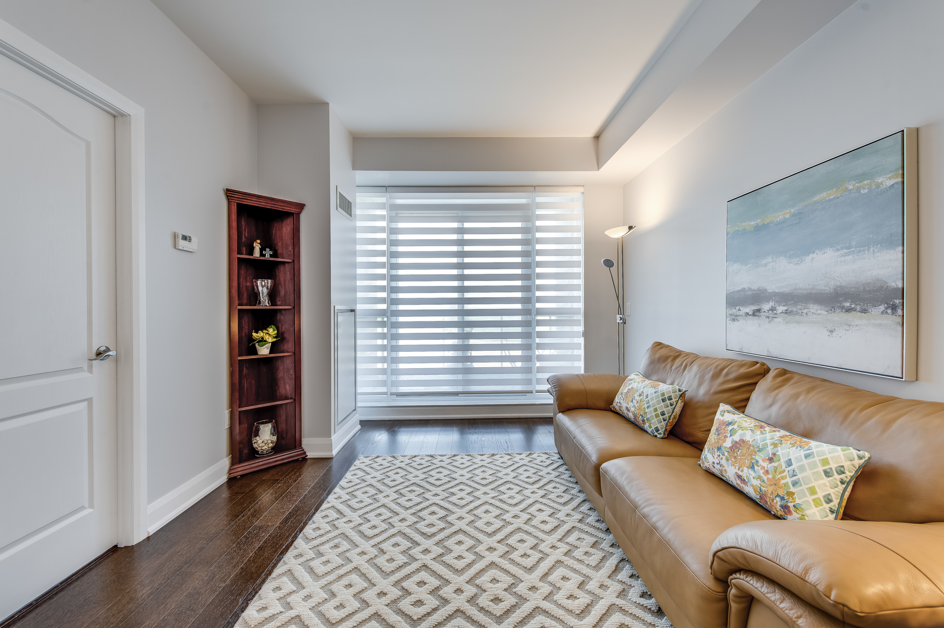 Living Room - 514-2480 Price Michael Dr, Oakville - Elite3 & Team at 514 - 2480 Prince Michael Drive, Iroquois Ridge North, Oakville