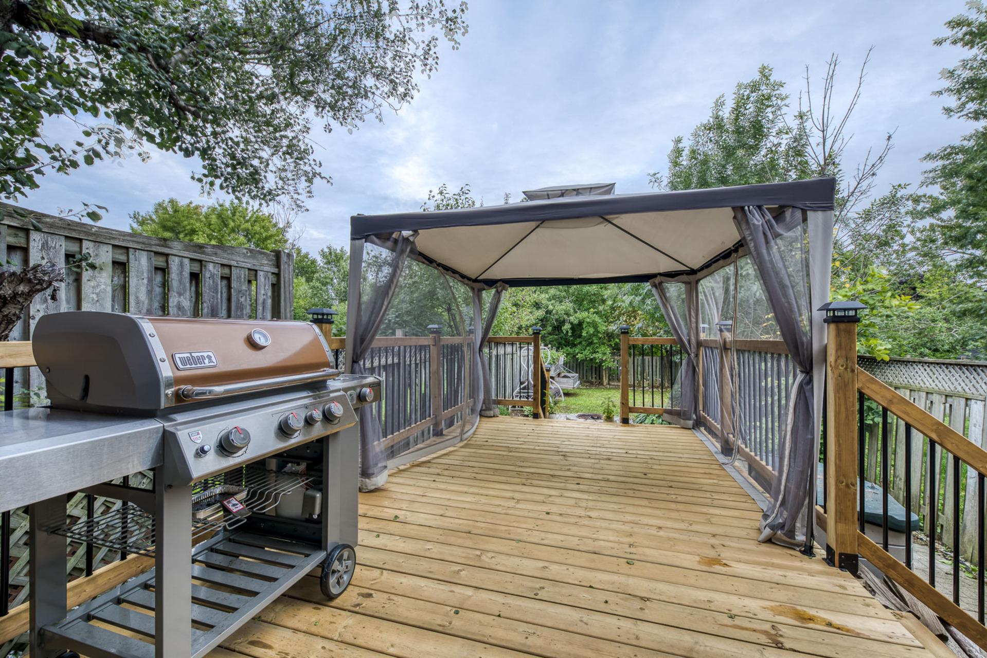 Backyard - 2407 Stefi Tr, Oakville - Elite3 & Team at 2407 Stefi Trail, River Oaks, Oakville