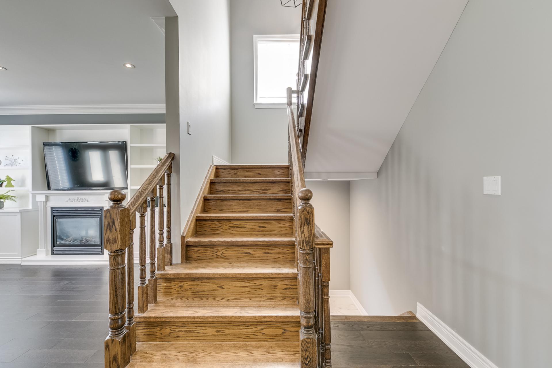 Stairs - 2473 Eighth Line, Oakville - Elite3 & Team at 2473 Eighth Line, Iroquois Ridge North, Oakville