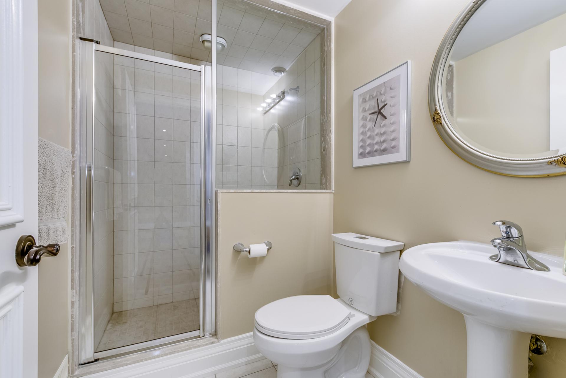 Basement Bathroom - 2415 Lyndhurst Dr, Oakville - Elite3 & Team at 2415 Lyndhurst Drive, Iroquois Ridge North, Oakville