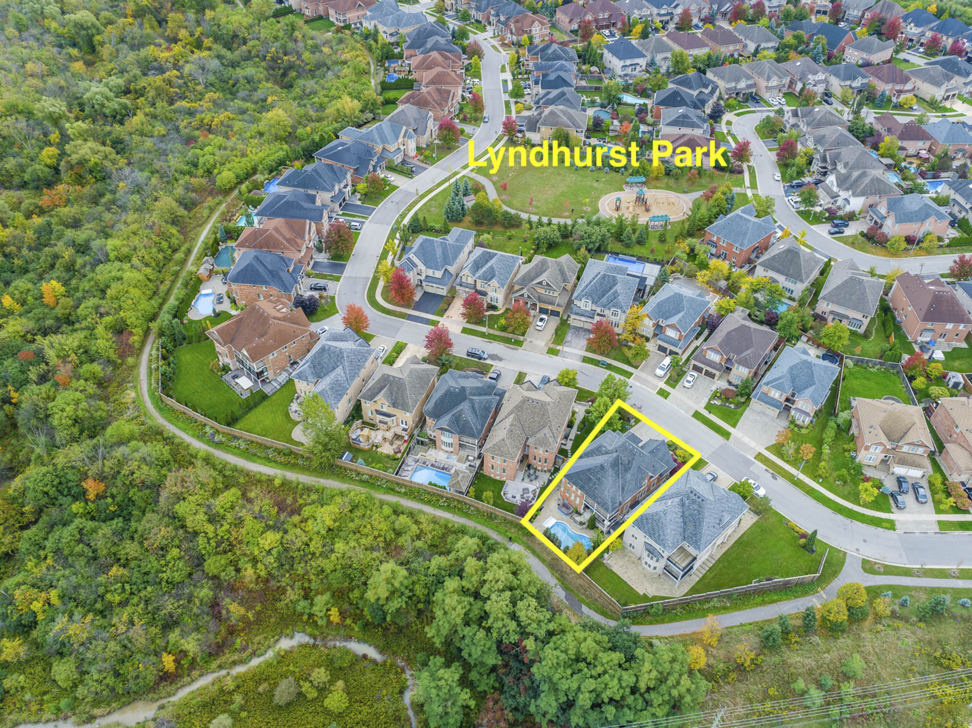 Location - 2415 Lyndhurst Dr, Oakville - Elite3 & Team at 2415 Lyndhurst Drive, Iroquois Ridge North, Oakville