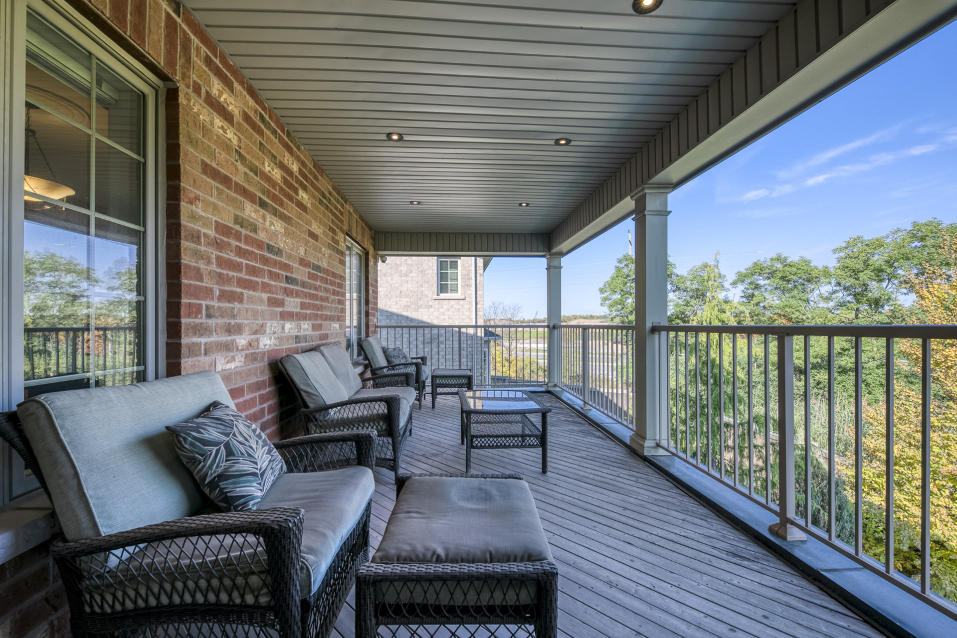 Master Bedroom Balcony - 2415 Lyndhurst Dr, Oakville - Elite3 & Team at 2415 Lyndhurst Drive, Iroquois Ridge North, Oakville