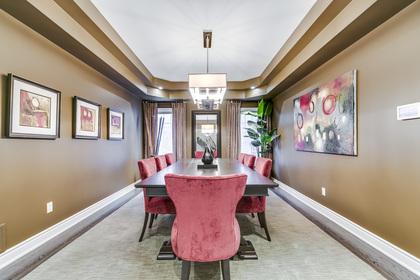 Dining Room - 2460 Bon Echo Dr, Oakville - Elite3 & Team at 2460 Bon Echo Drive, Iroquois Ridge North, Oakville