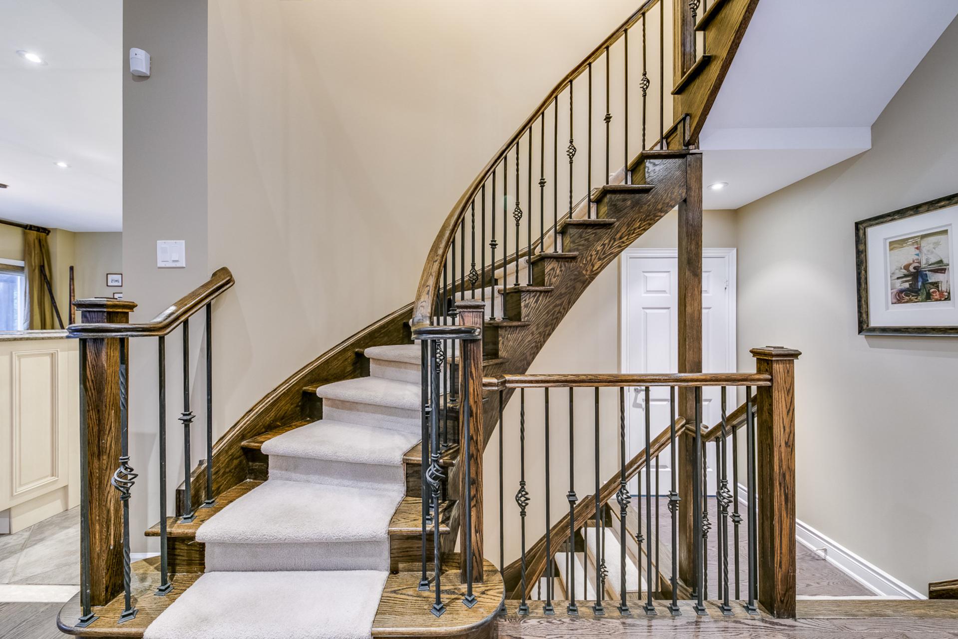 Stairs - 2460 Bon Echo Dr, Oakville - Elite3 & Team at 2460 Bon Echo Drive, Iroquois Ridge North, Oakville