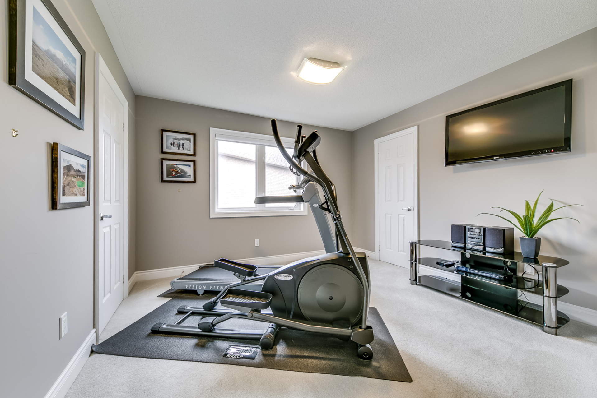5th Bedroom/GYM - 2460 Bon Echo Dr, Oakville - Elite3 & Team at 2460 Bon Echo Drive, Iroquois Ridge North, Oakville