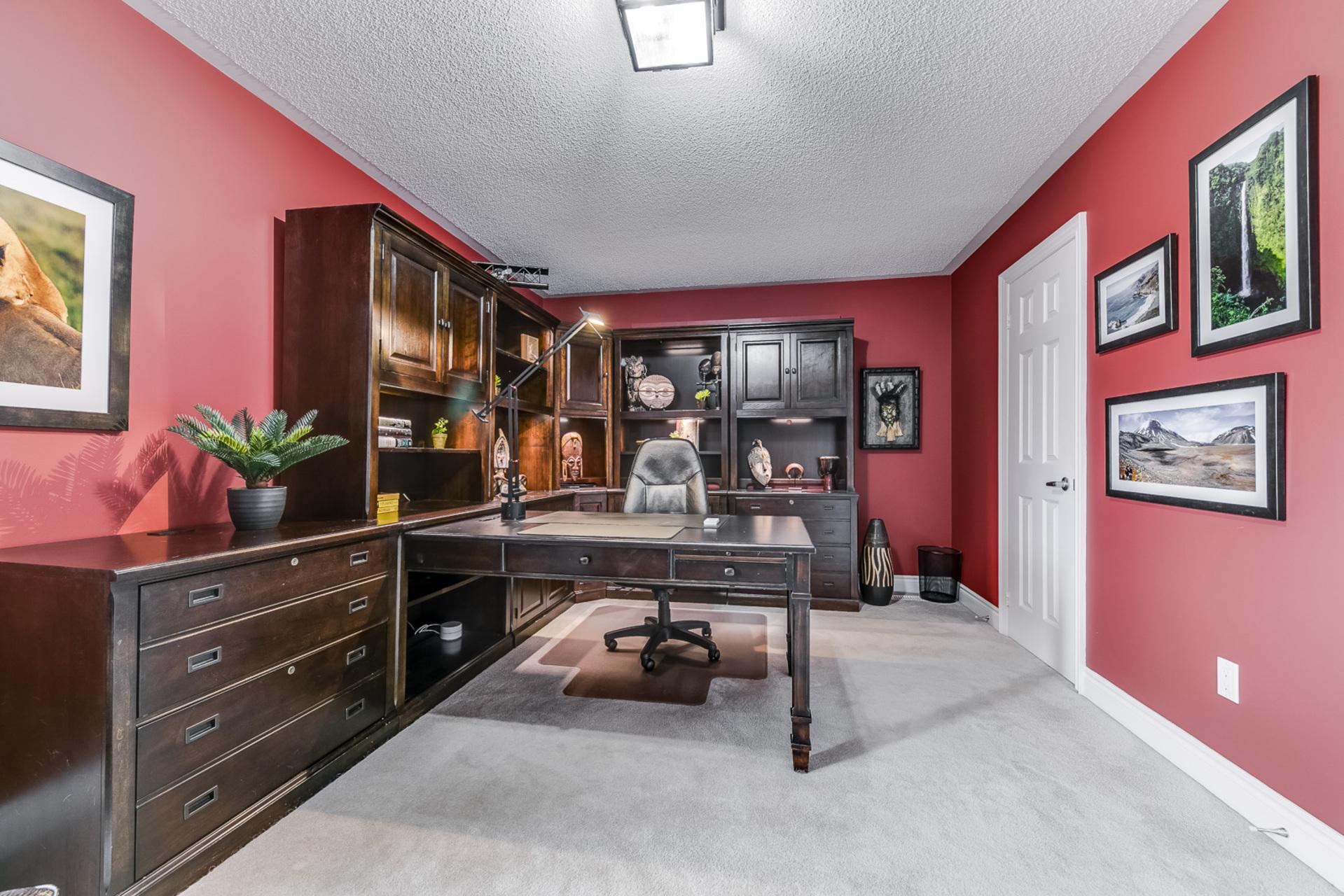 3rd Bedroom/Office - 2460 Bon Echo Dr, Oakville - Elite3 & Team at 2460 Bon Echo Drive, Iroquois Ridge North, Oakville