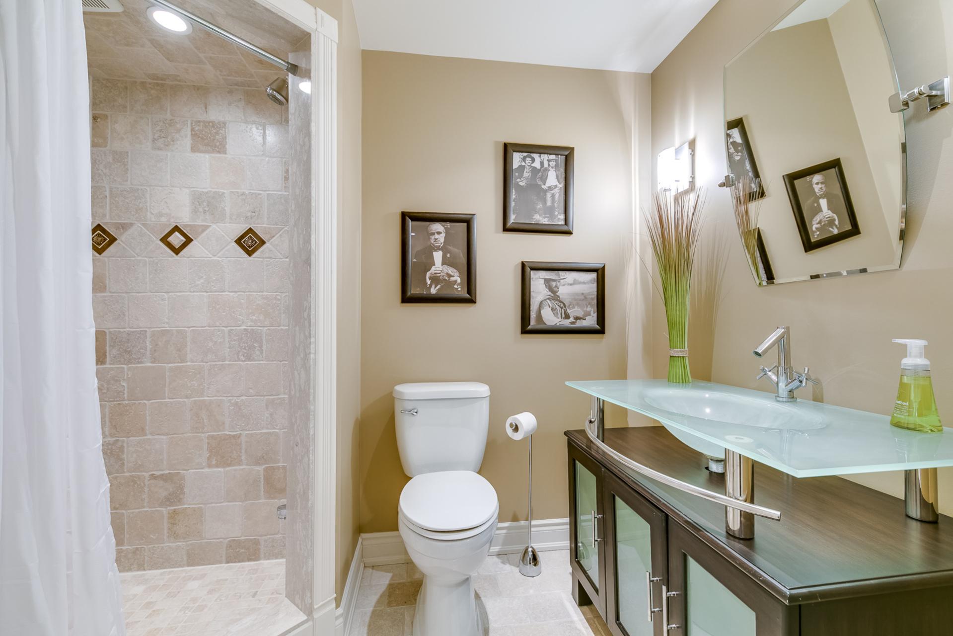 Basement Bathroom - 2460 Bon Echo Dr, Oakville - Elite3 & Team at 2460 Bon Echo Drive, Iroquois Ridge North, Oakville