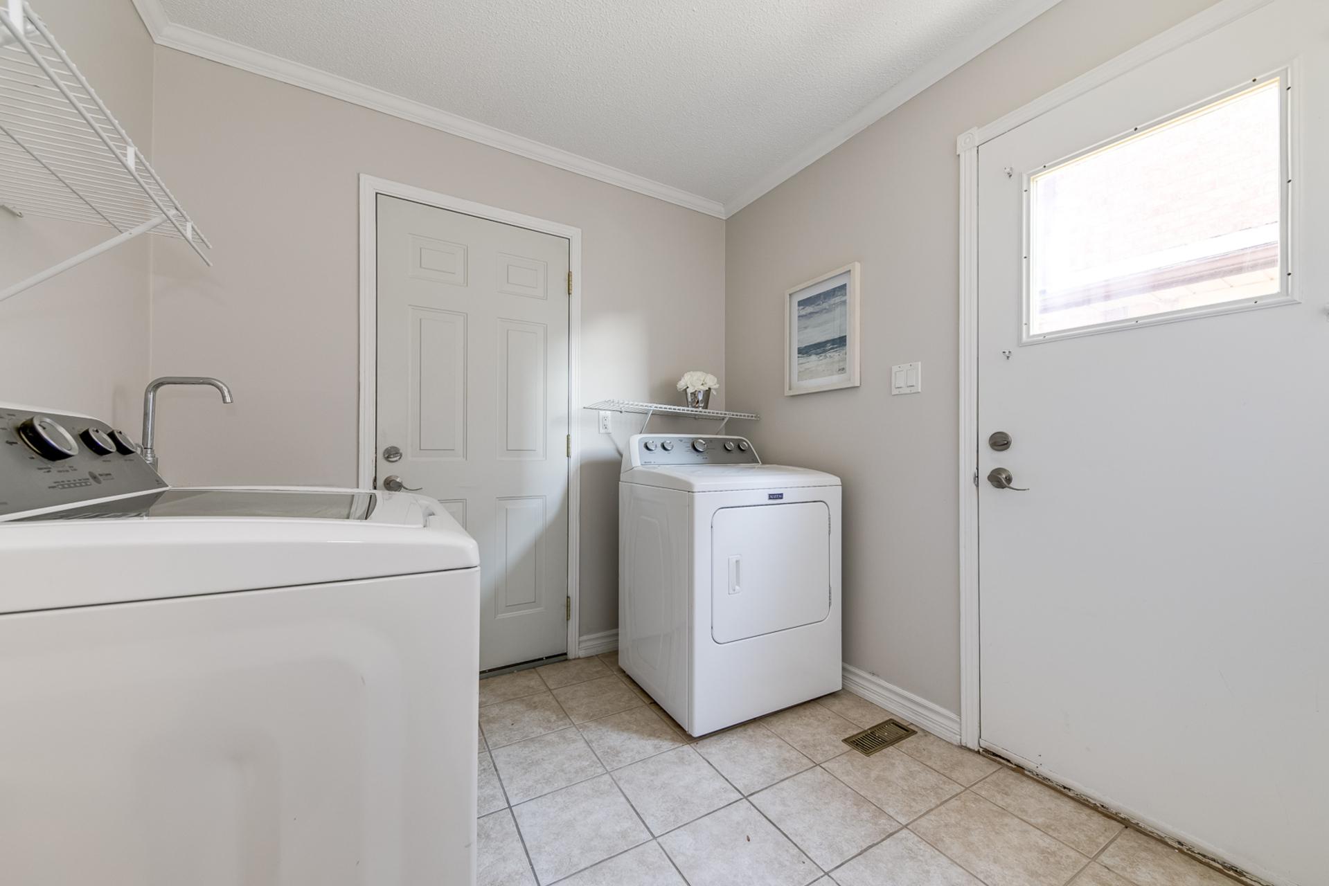 Laundry Room - 1509 Clearview Dr, Oakville - Elite3 & Team at 1509 Clearview Drive, Clearview, Oakville
