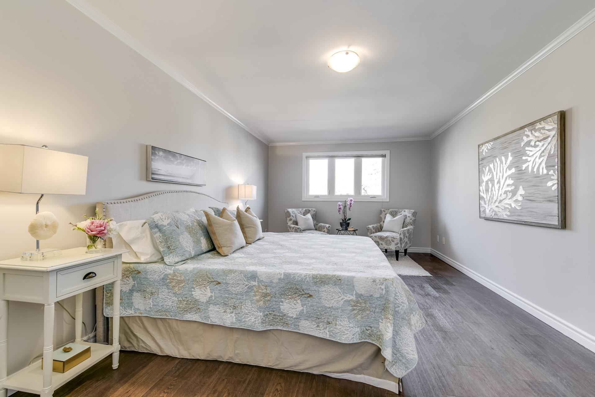 Master Bedroom - 1509 Clearview Dr, Oakville - Elite3 & Team at 1509 Clearview Drive, Clearview, Oakville