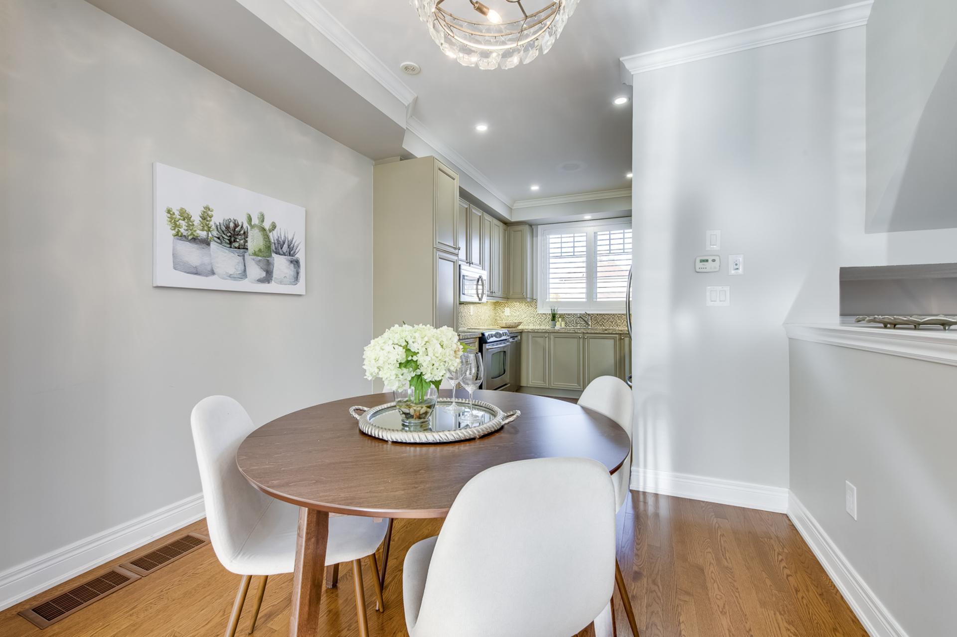 Dining Room - 2014 Lushes Ave, Mississauga - Elite3 & Team at 2014 Lushes Avenue, Clarkson, Mississauga